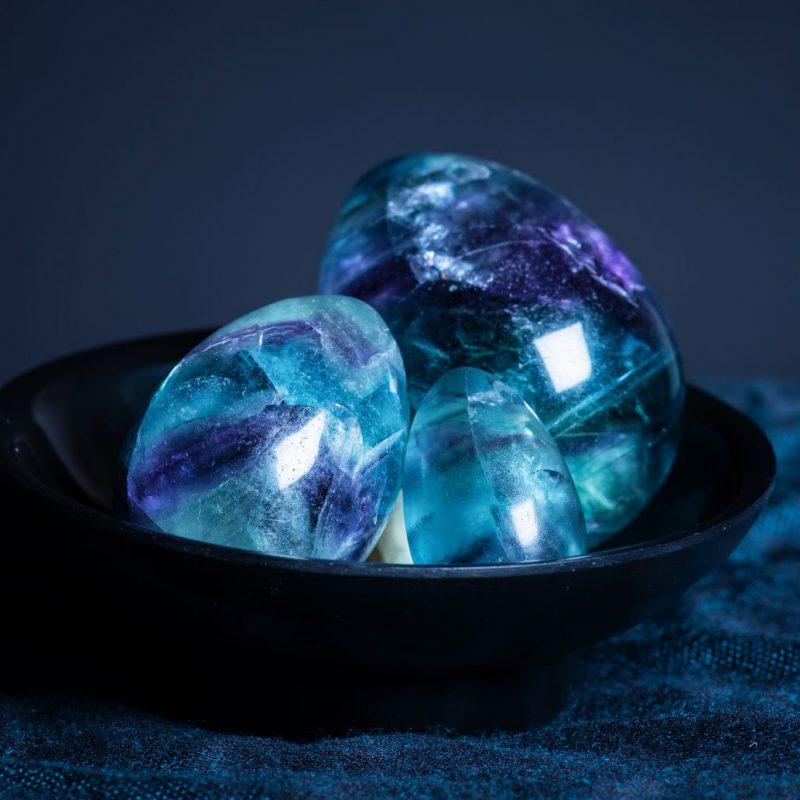 Gem Spot Fluorite Yoni Eggs