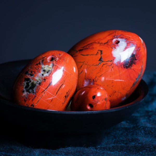 Yoni Eggs Red Jasper